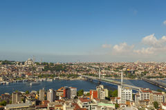Istanbul Golden Horn Royalty Free Stock Images