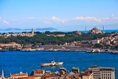 Istanbul Golden Horn View Stock Photos
