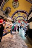 Istanbul Grand Bazaar Stock Photography
