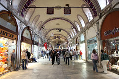 Istanbul Grand Bazaar, Turkey Royalty Free Stock Photos