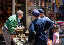 Istanbul grand bazaar Stock Photos