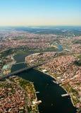 Istanbul guld- horn Arkivfoton
