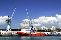 Istanbul-Hafen Stockfotografie