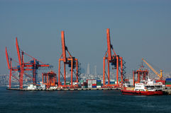 Istanbul-Hafen Stockbilder