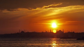 Istanbul, Hagia Sophia City Mosque stock video footage