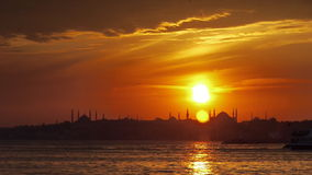 Istanbul, Hagia Sophia City Mosque Royalty Free Stock Photos