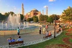 Istanbul, Hagia Sophia Stock Photo