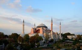 Istanbul. Hagia Sophia at sunset Stock Photography