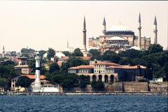 Istanbul the haia sofia. Sea view of istanbul the haia sofia Stock Image