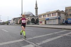 10. Istanbul-Halbmarathon Stockfotografie