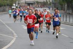 10. Istanbul-Halbmarathon Stockbild