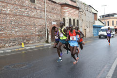 10. Istanbul-Halbmarathon Lizenzfreies Stockfoto