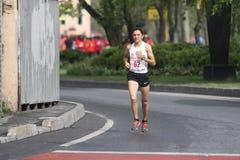 10. Istanbul-Halbmarathon Stockfotos