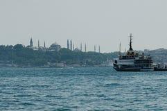 Istanbul hamn Arkivfoton
