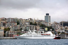Istanbul harbor Royalty Free Stock Photos