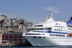 Istanbul harbor Stock Photography