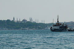 Istanbul harbor Stock Photos
