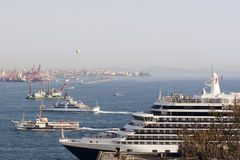 Istanbul Harbor Stock Images