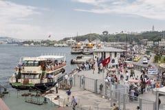 Istanbul Harbour Boğaz İskelesi Royalty Free Stock Image