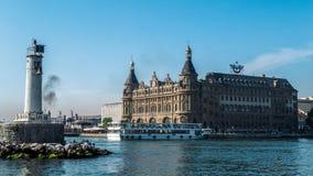 Istanbul-haydarpasa Stockbild