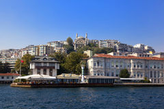 Istanbul Hill Royalty Free Stock Image