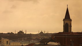 Istanbul historical peninsula church Stock Photo