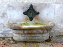 Istanbul historisk springbrunn Royaltyfri Fotografi