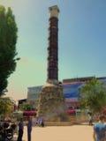Istanbul historiska monument Arkivbild