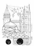 Istanbul Illustration Stock Photos
