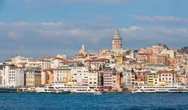 istanbul indyka widok Fotografia Royalty Free