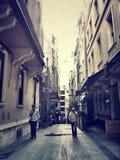 Istanbul Istiklal April 2014 Arkivfoton