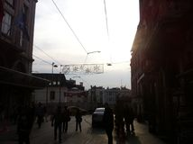 Istanbul Istiklal en avril 2014 Images stock