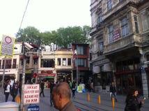 Istanbul Istiklal en avril 2014 Images libres de droits