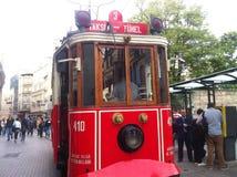 Istanbul Istiklal en avril 2014 Photo stock