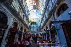 Istanbul, istiklal / Turkey 03.04.2019: Cicek Passage, Historical Place in Istanbul royalty free stock image