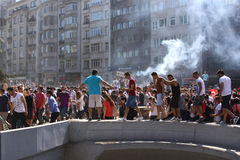 ISTANBUL - JUNE 1: Gezi Park Public Protest against the governme Stock Image