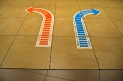 Istanbul Kadikoy Tavsantepe metro station, orientation information. royalty free stock images