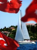 istanbul kalkon Arkivfoton