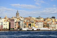 Istanbul Karakoy Port Royalty Free Stock Images