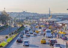 Istanbul Kennedy Avenue Image stock