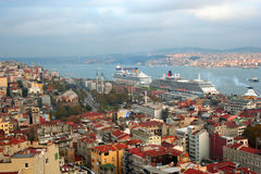 istanbul krajobrazu dach Fotografia Royalty Free