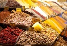 Istanbul kryddor Fotografering för Bildbyråer