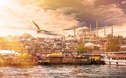 Istanbul la capitale de la Turquie photographie stock libre de droits