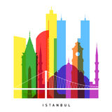 Istanbul landmarks Stock Photography