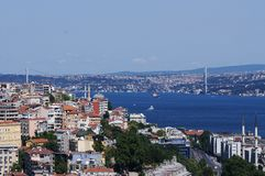 Istanbul landscape Royalty Free Stock Photography