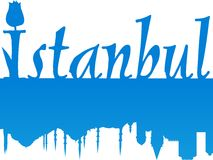 Istanbul large image royalty free stock images