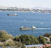 Istanbul - le Bosphorus Photo libre de droits