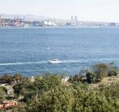 Istanbul - le Bosphorus Photographie stock libre de droits
