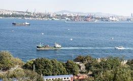 Istanbul - le Bosphorus Photographie stock