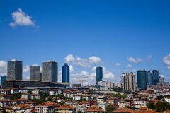 Istanbul levent Royalty Free Stock Photo